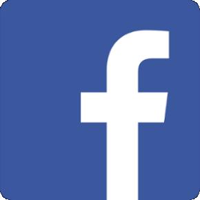 coloured facebook logo