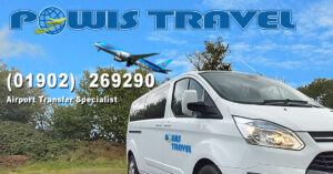 powis travel advert